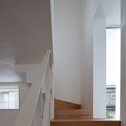 三鷹の住宅 (階段)