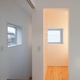 三鷹の住宅 (書斎スペース)