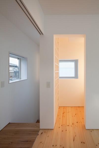 書斎スペース (三鷹の住宅)