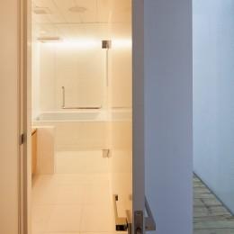 三鷹の住宅 (浴室)