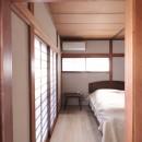 湘南に佇む古民家の写真 寝室