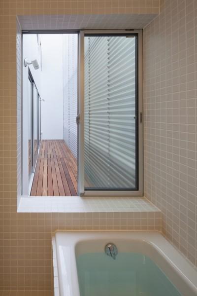 浴室 (深沢の住宅)