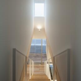 深沢の住宅 (階段)