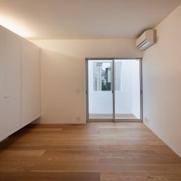 深沢の住宅 (寝室)