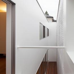 深沢の住宅 (2階テラス)