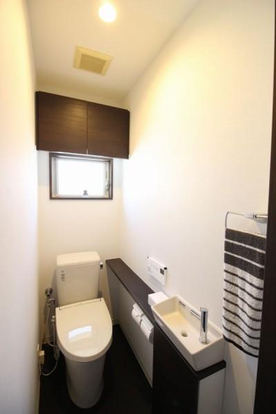 トイレ (ネコと暮らす戸建リフォーム)