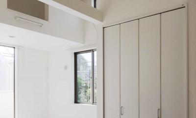 老朽化したアパート建替え。デザイナーズで土地有効活用 (賃貸の内観はホワイトルーム)