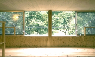 小石川植物園と向き合う家/Niさんの家 (ロフト)