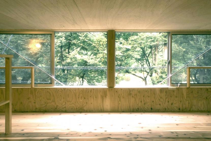 小石川植物園と向き合う家/Niさんの家の写真 ロフト