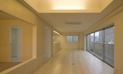徳丸の住宅 (リビング,ダイニング)