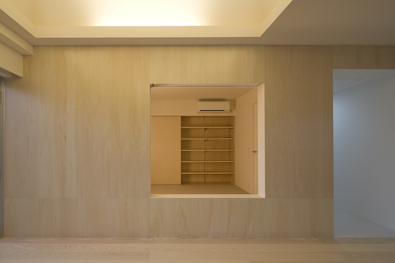 ベッドルーム事例:寝室2(徳丸の住宅)
