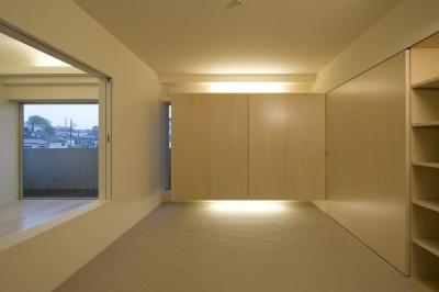 寝室2 (徳丸の住宅)