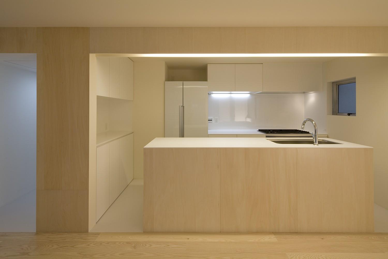 キッチン事例:キッチン(徳丸の住宅)