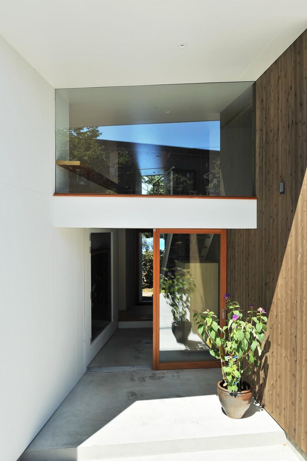 sakuramori house (玄関)