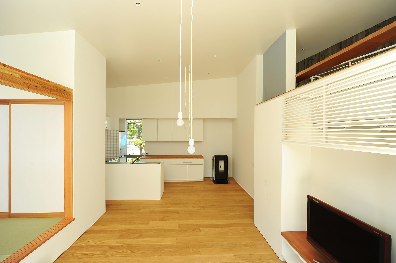 キッチン事例:キッチン(sakuramori house)