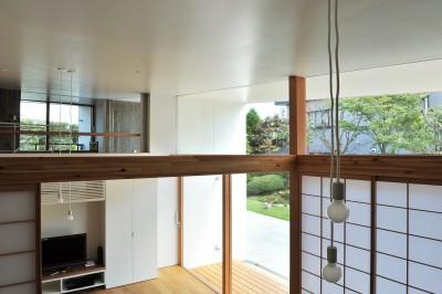 吹抜け (sakuramori house)