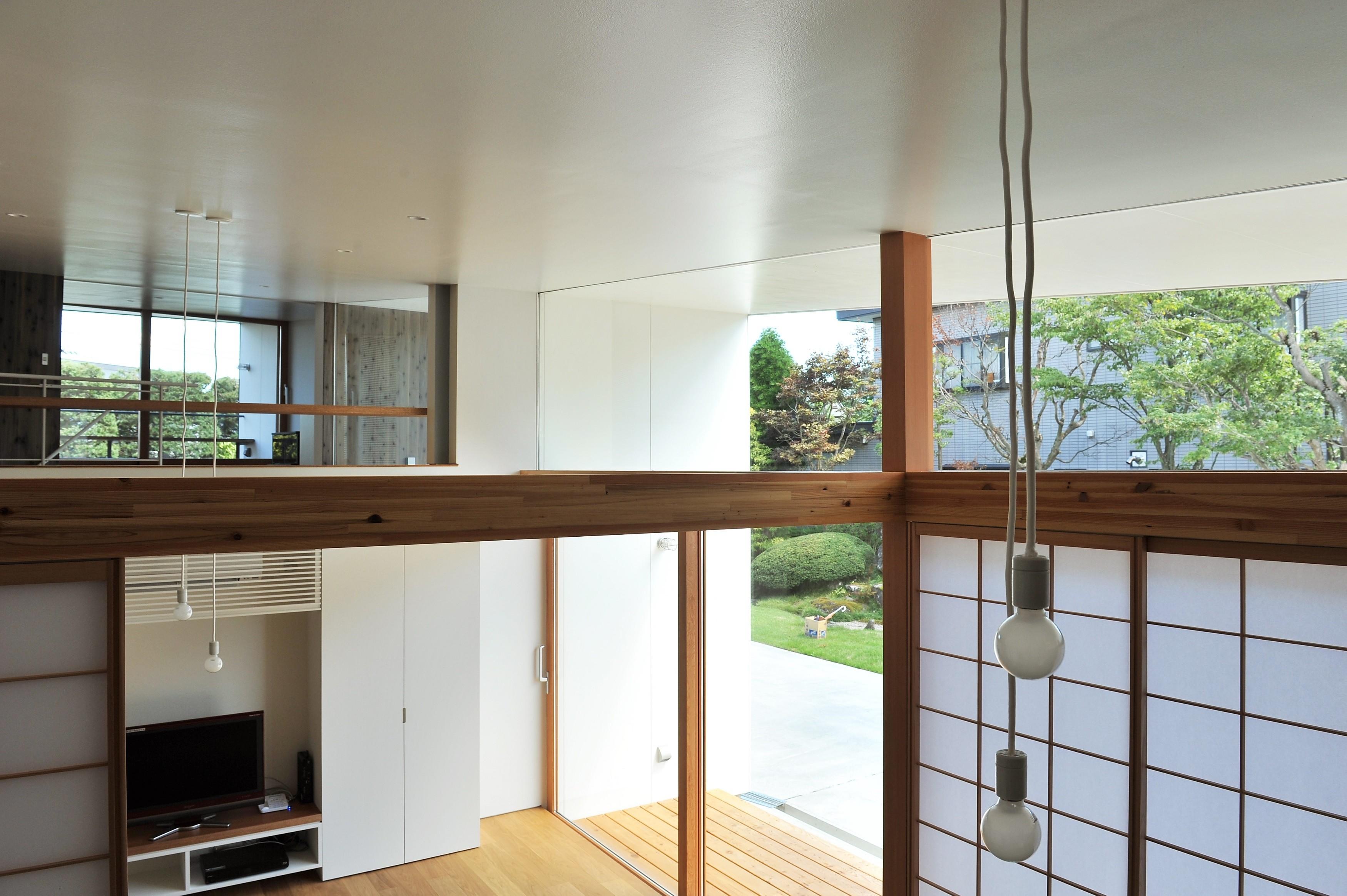 その他事例:吹抜け(sakuramori house)