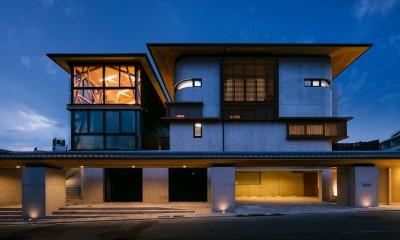 外観|五条坂の家
