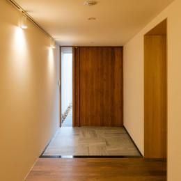 五条坂の家 (玄関)