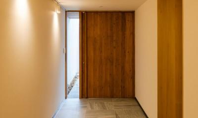 玄関|五条坂の家