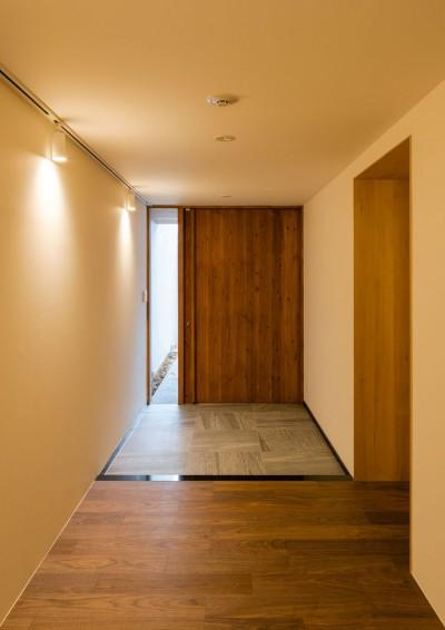 玄関 (五条坂の家)
