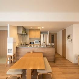 羽田の家 (ダイニングキッチン)