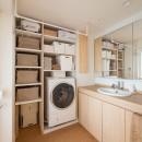 羽田の家の写真 洗面脱衣室