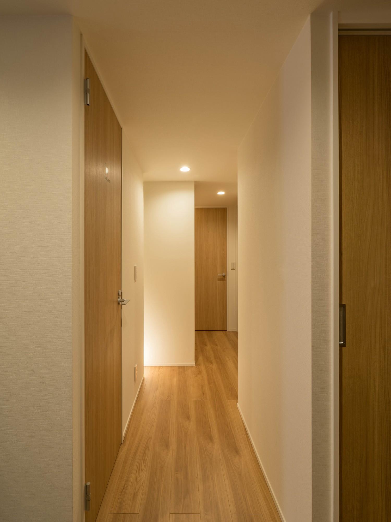その他事例:廊下(羽田の家)