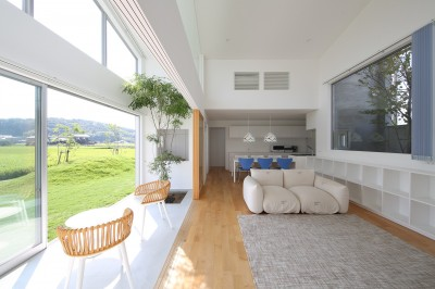 House in Kawanabe ~緑と共に暮らす家~ (LDK)