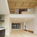 多層空間の家の写真 リビング・ダイニング