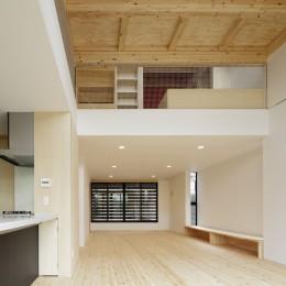 多層空間の家