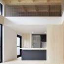 多層空間の家の写真 キッチン