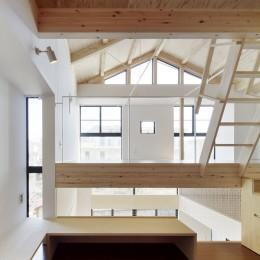 多層空間の家 (子供のスペース)
