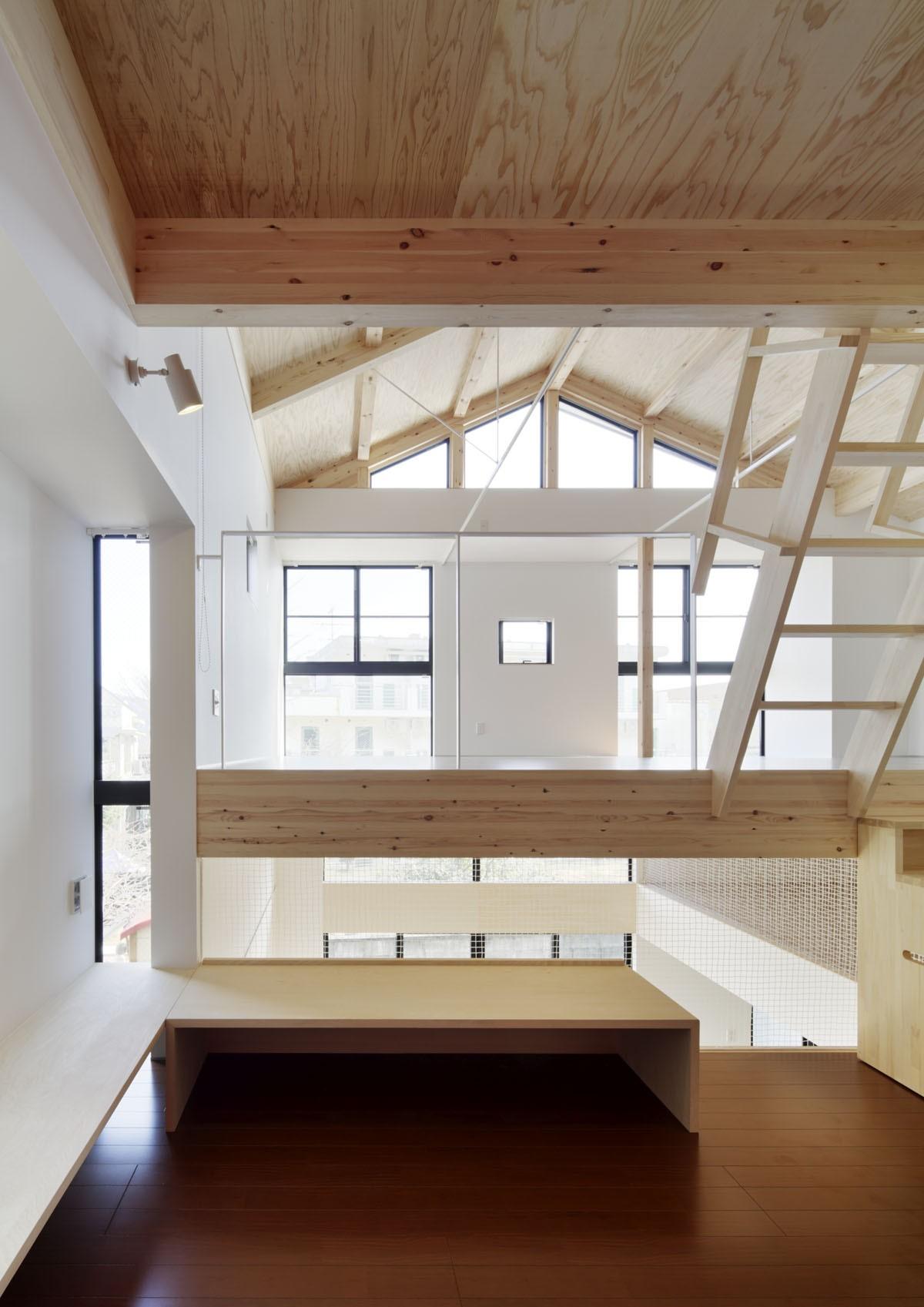子供部屋事例:子供のスペース(多層空間の家)