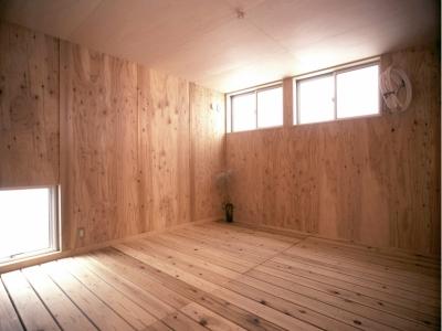 1階寝室 (小石川植物園と向き合う家/Niさんの家)