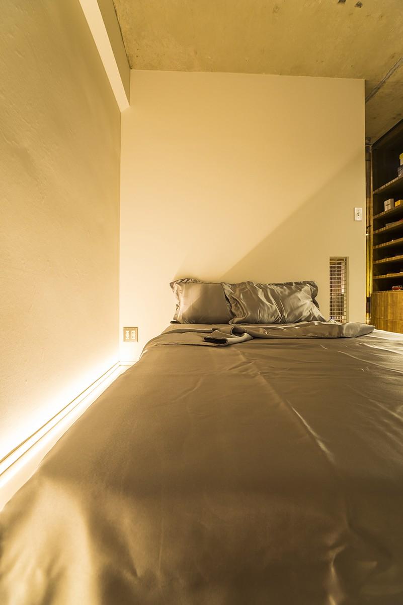 ベッドルーム事例:Bedroom(ドアがひとつの家)