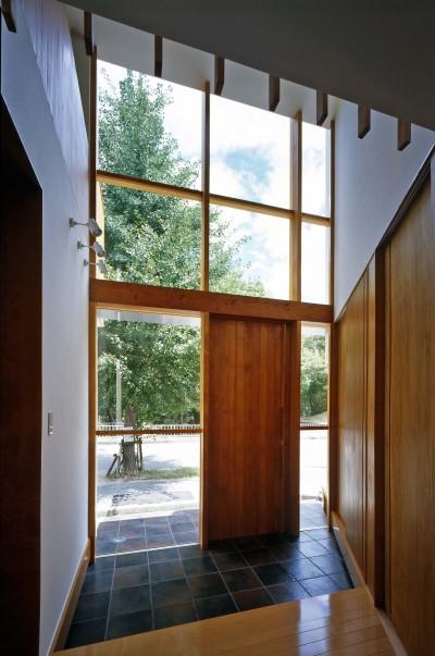 新千里の家 (玄関)