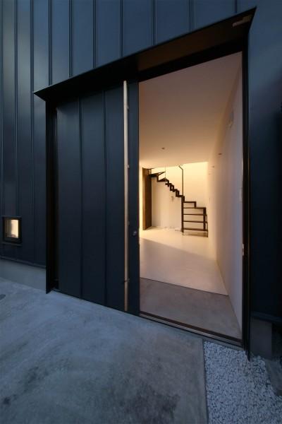 最小限ハウス (玄関ドア)