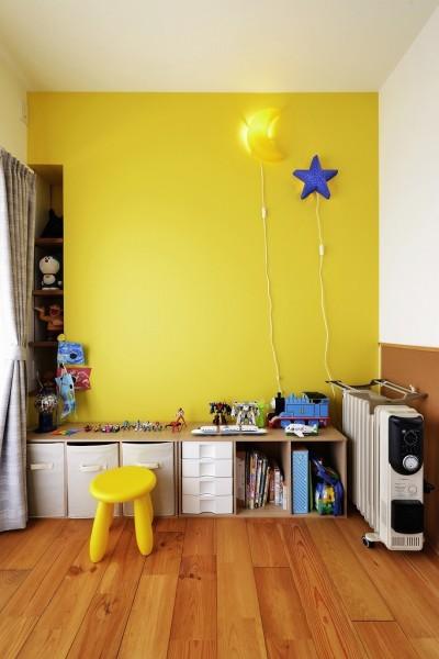 子ども部屋 (O邸_お家に帰ろう。)