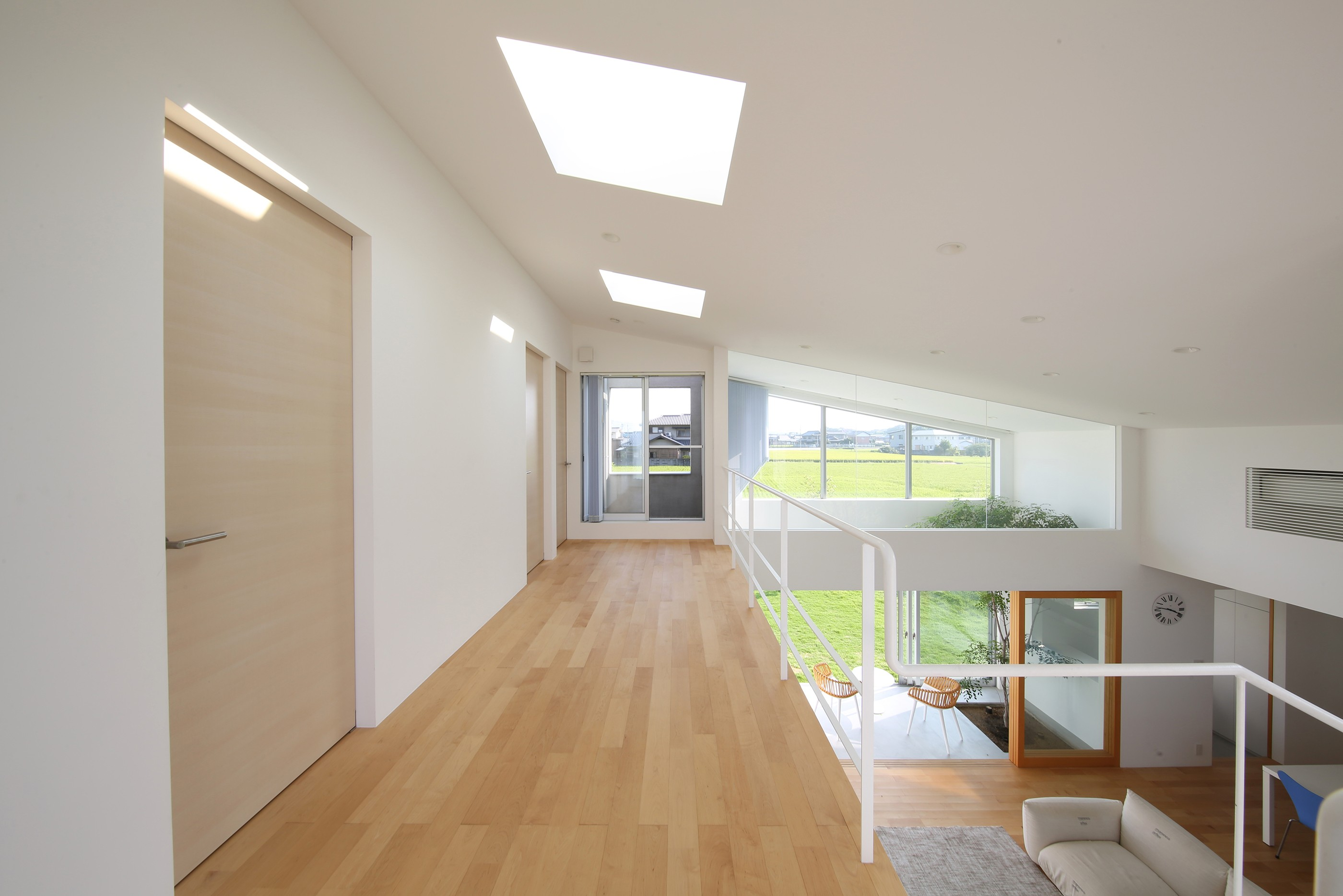 リビングダイニング事例:2F(House in Kawanabe ~緑と共に暮らす家~)