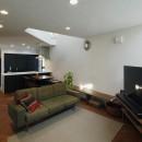 光を感じながら暮らせる家の写真 LDK