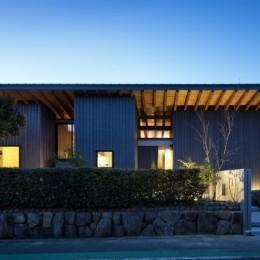富田林の家 (夜景)