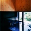 切妻の家の写真 浴室
