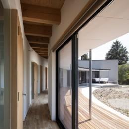堺の家 (廊下)