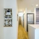 スキップフロアのある家~パッシブハウス~の写真 ニッチ(インターホン、リモコン、電気スイッチ)