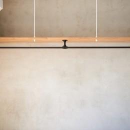 白を基調とした開放的なお家 (内装)