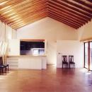 切妻の家の写真 LDK