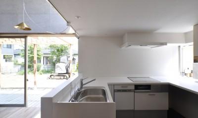 鴻巣の家 (キッチンとダイニング)