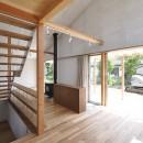 鴻巣の家の写真 階段とダイニング