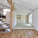 鴻巣の家の写真 和室とリビング